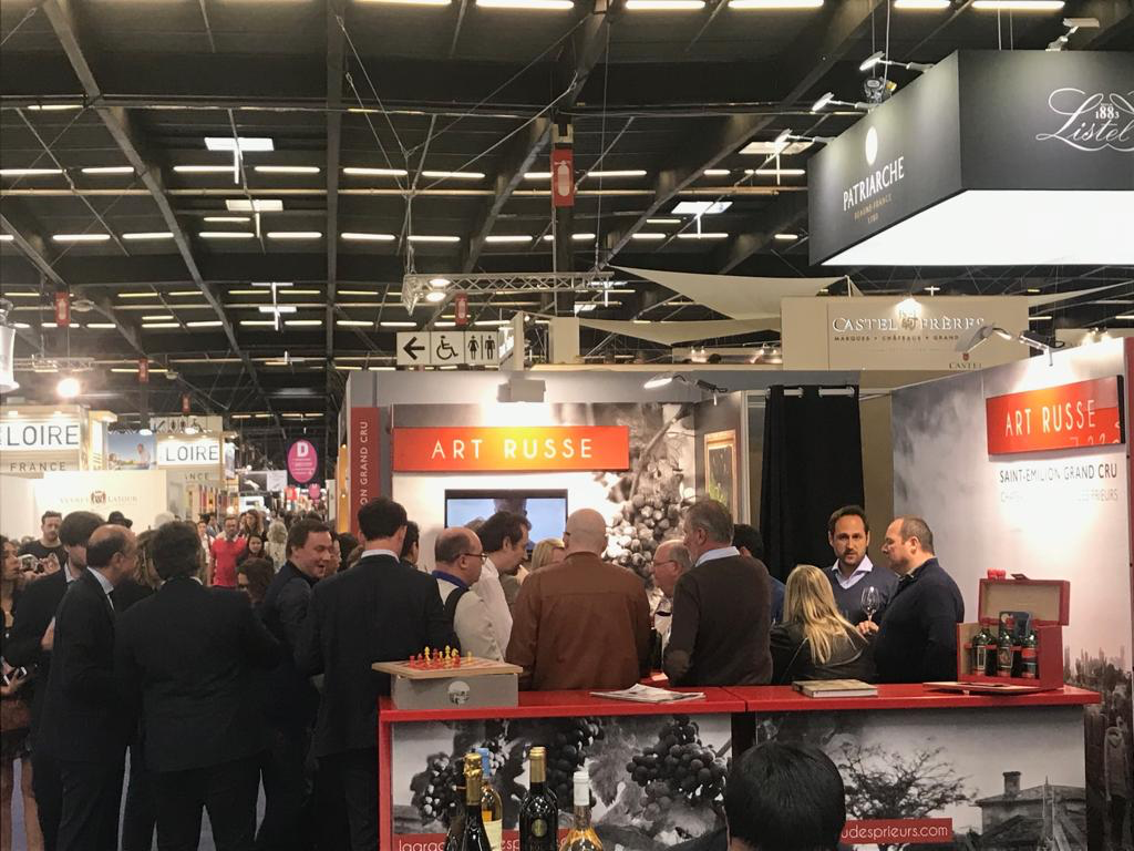 Art Russe Saint-Emilion Grand Cru Debuts at one of the World's Biggest Wine Shows 'Vinexpo Bordeaux'