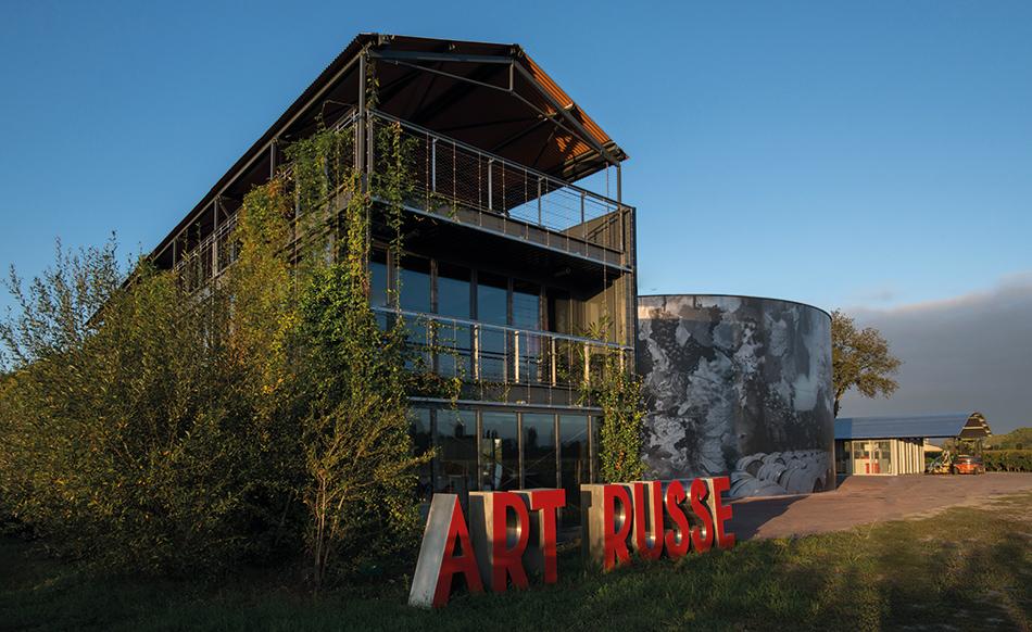 A LA GRÂCE DE L'ART RUSSE